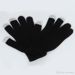 iGlove Varma Smarta Touchvantar - Unisex - Svarta - OneSize svart