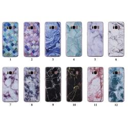 Galaxy S8 Plus Skal 12. Ocean marble