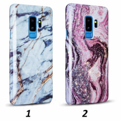 Galaxy S9 Plus - Skal 1. White Gold Marble