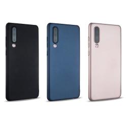 Huawei P30 - Hårdplast skal - Mycket tunt & slitstarkt Svart