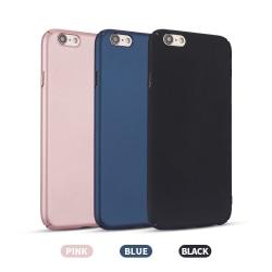 iPhone 6/6S - Hårdplast skal - Mycket tunt & slitstarkt Svart