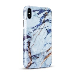 iPhone X - Skal 1. White Gold Marble