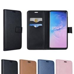 Plånboksfodral - Galaxy S10 Plus Rosa