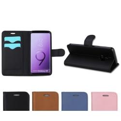 Plånboksfodral - Galaxy S9 Plus Blå
