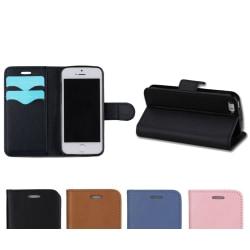 Plånboksfodral - iPhone 5/5S/SE Svart