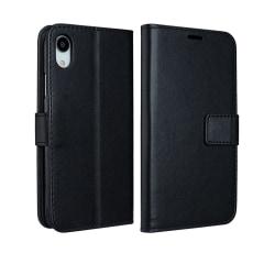 Plånboksfodral - iPhone XR Svart