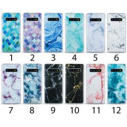 Samsung Galaxy S10 - Skal 5. White marble