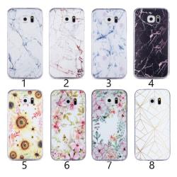 Samsung Galaxy S6 - Skal 1. White marble