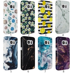 Samsung Galaxy S7 - Skal 5. Ocean marble