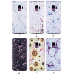Samsung Galaxy S9 Plus - Skal 2. White/gold marble