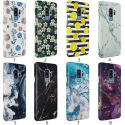 Samsung Galaxy S9 Plus - Skal 6. Black marble