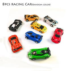 4/8PCS Speed Racing Car Vehicles Model Pull Back Toy 8PCS