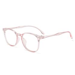 Anti-blue Light Glasses Optical Eyewear TRANSPARENT PINL