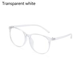 Blue Light Blocking Glasses Computer Glasses TRANSPARENT WHITE