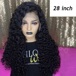 Bob Wig Lace Front Long Curly Hair Wig 28 INCH