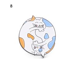 Emaljbroscher emblem Brosch 8