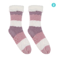 Floor Socks Mid Tube Socks Non-slip 2