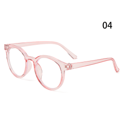 Barnglasögon Runda glasögon Ultralätt ram 04