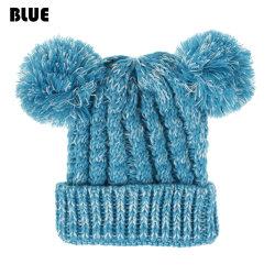 Kids Hats Children Winter Cap Infant Toddler Beanies BLUE