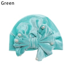 Kids Turban Knot Cap Indian Hat GREEN green
