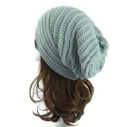 Knitted Hat Beanie Hat Ski Cap LIGHT GREY light grey