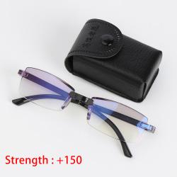 Läsglasögon Anti-blått ljus vikbar STYRKA 150