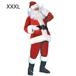 Santa Claus Costume Outfit Christmas Father Dress XXXL XXXL