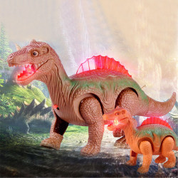 Walking dinosaur Electric toy Action Figure Light Up