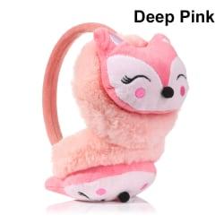 Warm Earmuffs Ear Warmers DEEP PINK deep pink