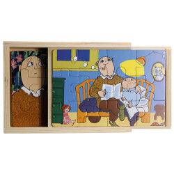 Alfons Åberg  - 4 x träpussel