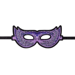 Ansiktsmask - lila fågel Lila