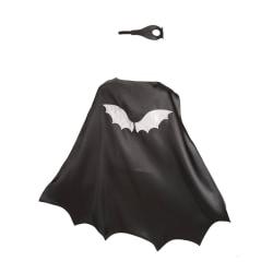 Cape + ansiktsmask - Super Hero Bat Boy