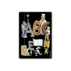 Kortspel - ABC leken