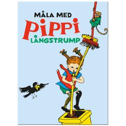 Målarbok - Måla med Pippi