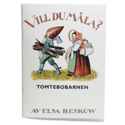 Målarbok - Tomtebobarnen av Elsa Beskow