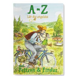 Skrivbok - A - Z Lär dig Engelska med Pettson & Findus