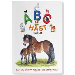 Skrivbok - ABC Hästraser