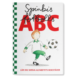 Skrivbok - Spinkis fotbolls ABC