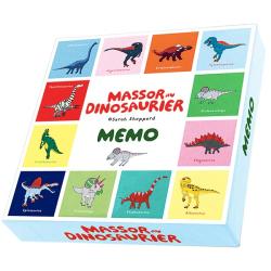 Spel - Massor av dinosaurier memo
