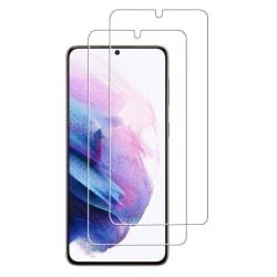 2-Pack C4U® Härdat Glas för Samsung Galaxy S21 Bubbelfritt Härda Transparent