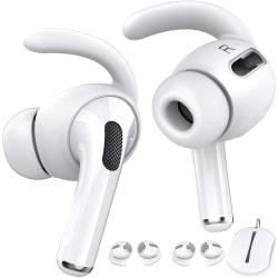 C4U Earhooks In-ear för AirPods Pro Earhooks Earbuds silikon kit Vit
