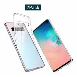 C4U® 2-Pack Galaxy S10 TPU Protection - Slimmat skal