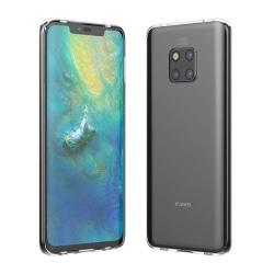 C4U® Huawei Mate 20 Pro skal TPU transparent mobilskal
