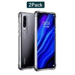 C4U® Huawei P30 Pro 2-Pack Shockproof - Slimmat genomskinligt sk P30 Pro