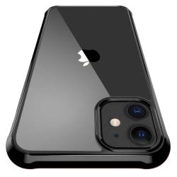 C4U® skal för iPhone 12 Mini ShockBlack - Slimmat stötdämpande Black iPhone 12 Mini