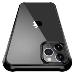 C4U® skal för iPhone 12 Pro Max ShockBlack - Slimmat stötdämpand Black iPhone 12 Pro Max