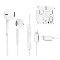 Hörlurar in ear earbuds | Mikrofon | Lyssna & Ladda samtidigt Vit