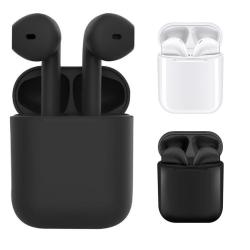 InPods - EarPods 12 TWS Bluetooth hörlurar upp till 6 timmar. Black inPods 12 - Black