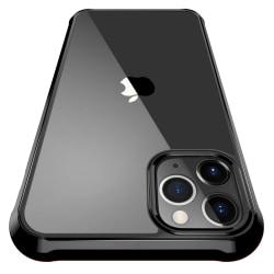 iPhone 11 Pro ShockBlack - Slimmat genomskinligt svart skal C4U® Svart