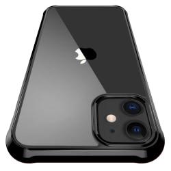 iPhone 11 ShockBlack - Slimmat genomskinligt / svart skal C4U® Svart
